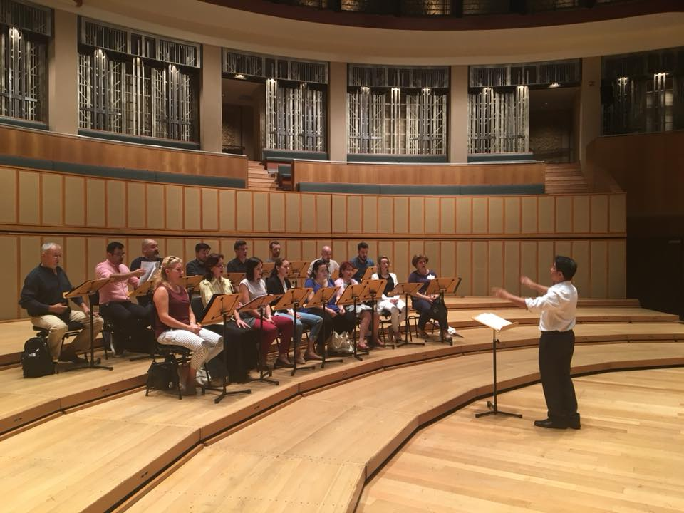 The Choir's Debut in Singapore