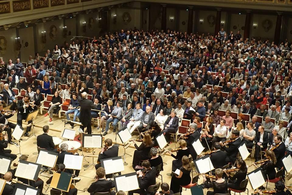The Choir's Debut in Konzerthaus Berlin