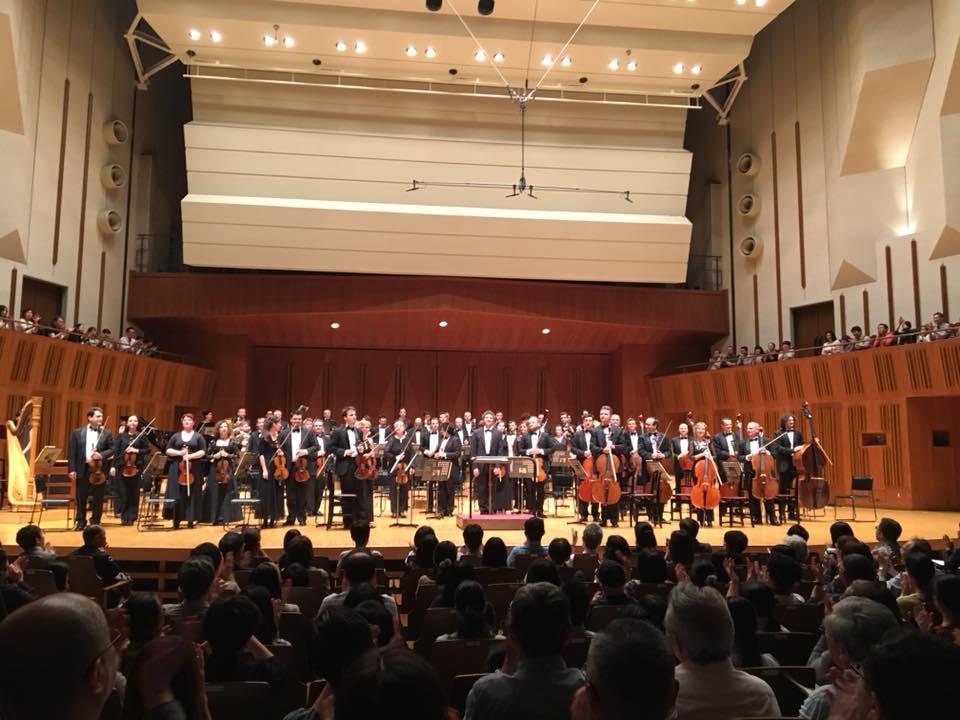 The Orchestra's Tour in La Folle Journée
